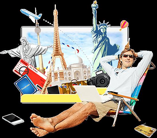 pleasure of travel planning