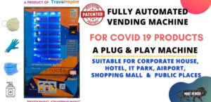Vending Machine for Covid Products